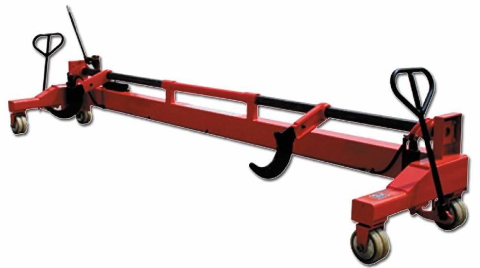 Heavy Beam Trolley- Hydraulic