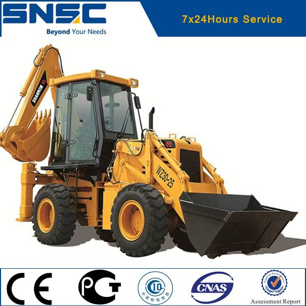 WZ30-25 articulated hydraulic backhoe loader for sale