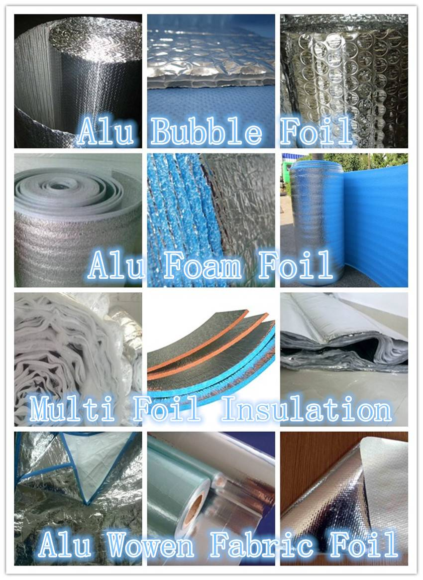 Reflective Foil/bubble insulation products
