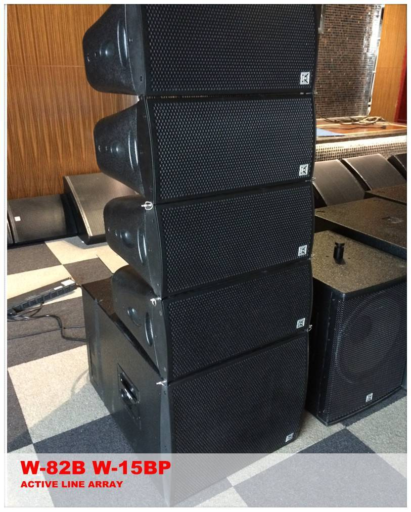active indoor line array 8 inch pro speaker system