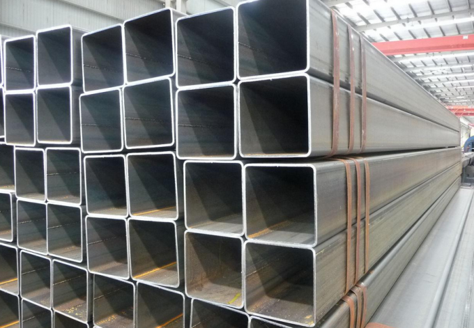 Hollow Structural Sections of Carbon Steel Square Pipes Galvanized