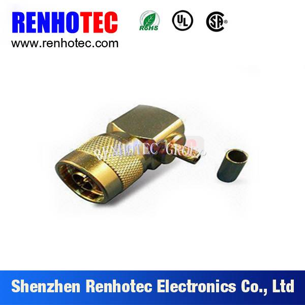 Factory low price 90 degree N connector