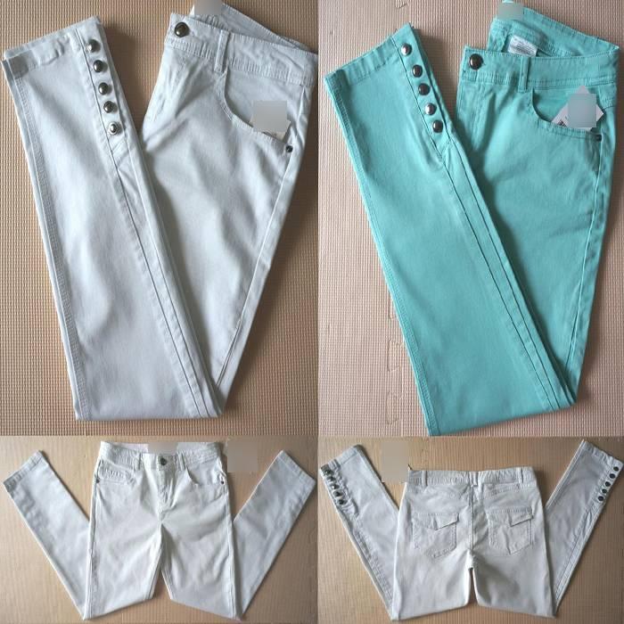 Women's pencil pants crop jeans ankle length pants) chino pants