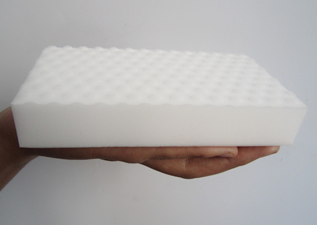 Compressed sponge melamine foam customized size sponge different color foam