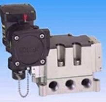Konan Explosion-Proof Drip-Proof 5-port Solenoid Valves MVS2F(N)/MVD2F(N) series Spool valve