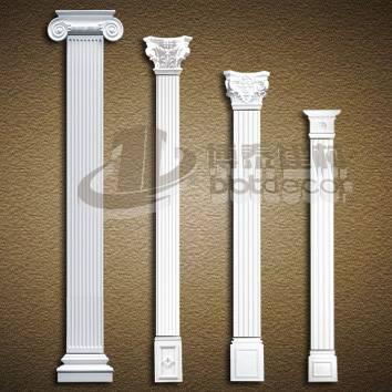 PU Carving Roman Pillar