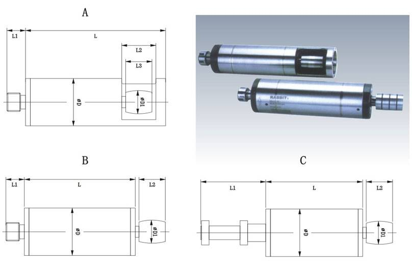 electric spindle motor spindles for milling machine torque electric spindles for numerical engraving