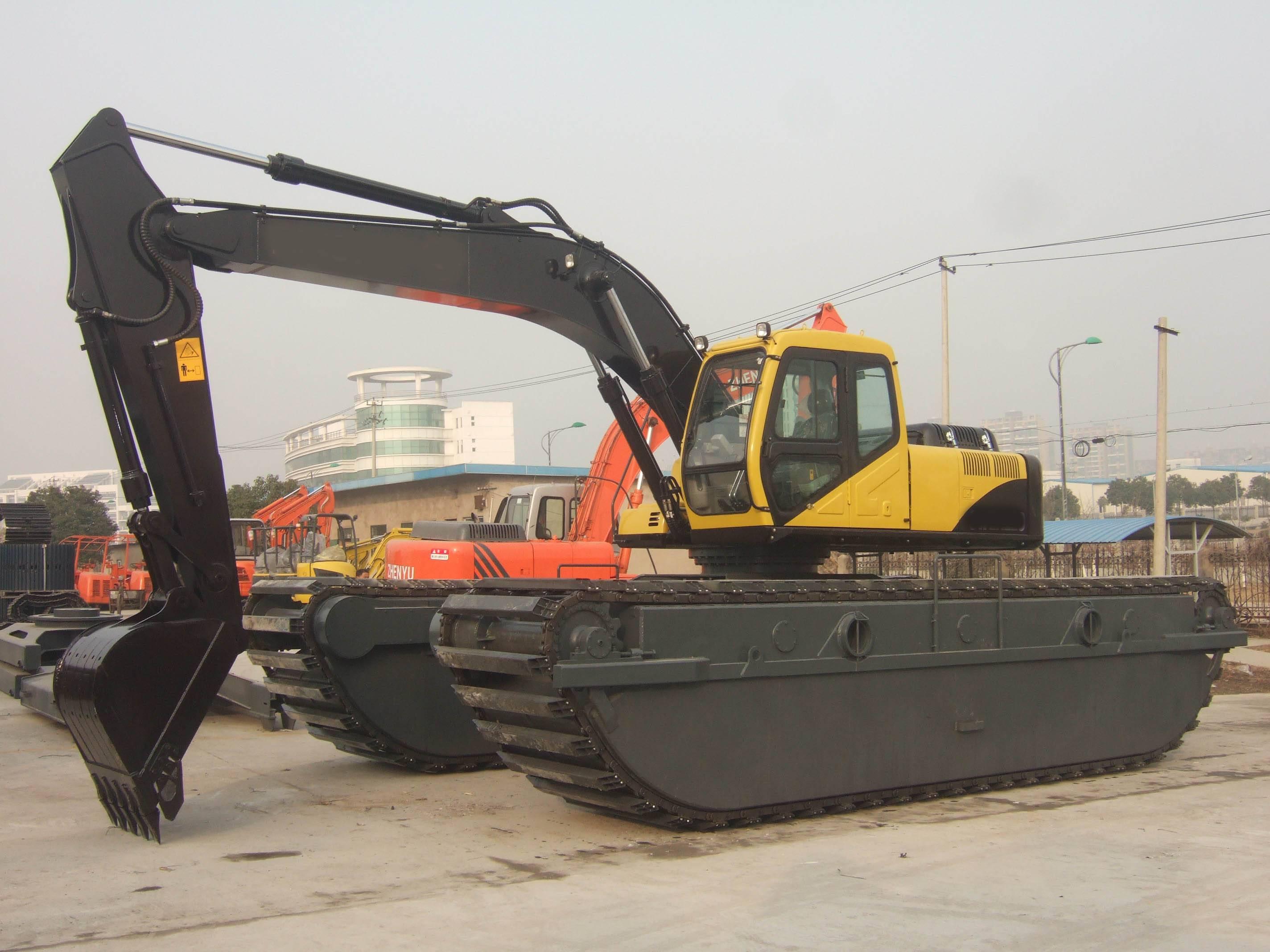 21tons Amphibious Excavator, AE210SD