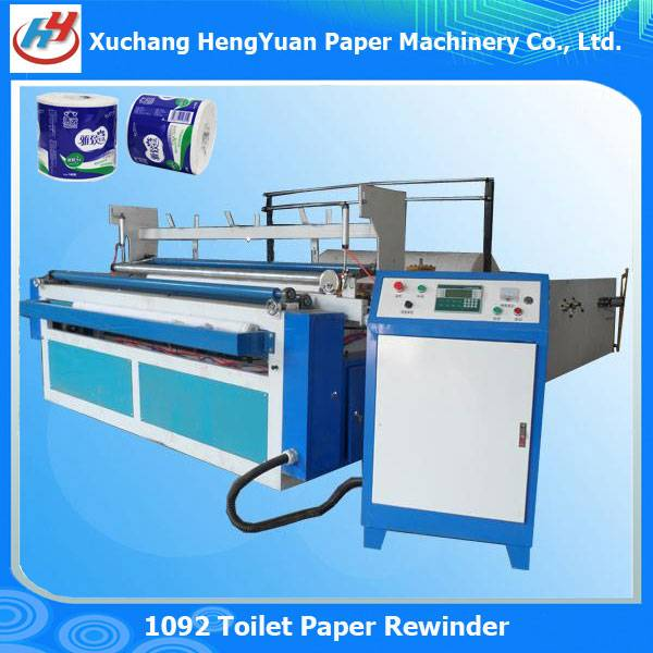 Full Automatic Embossing Toilet Paper Rewinding Machine