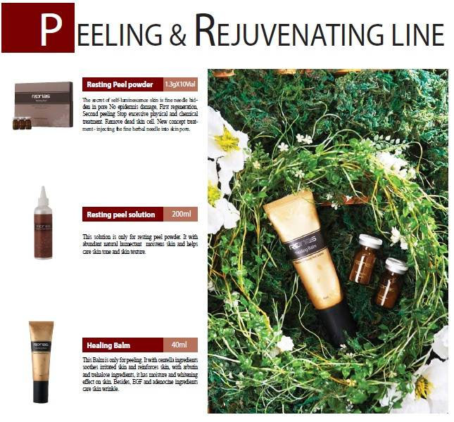 PEELING & REJUVENATING LINE