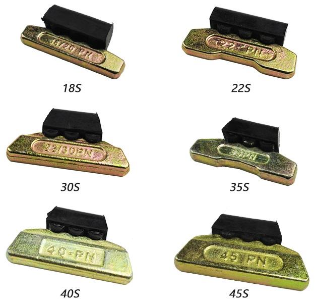 ESCO/ Hitachi pin lock & rubber 18-20PN,22PN,25PN,30PN,35PN,40PN,45PN,50PN,55PN