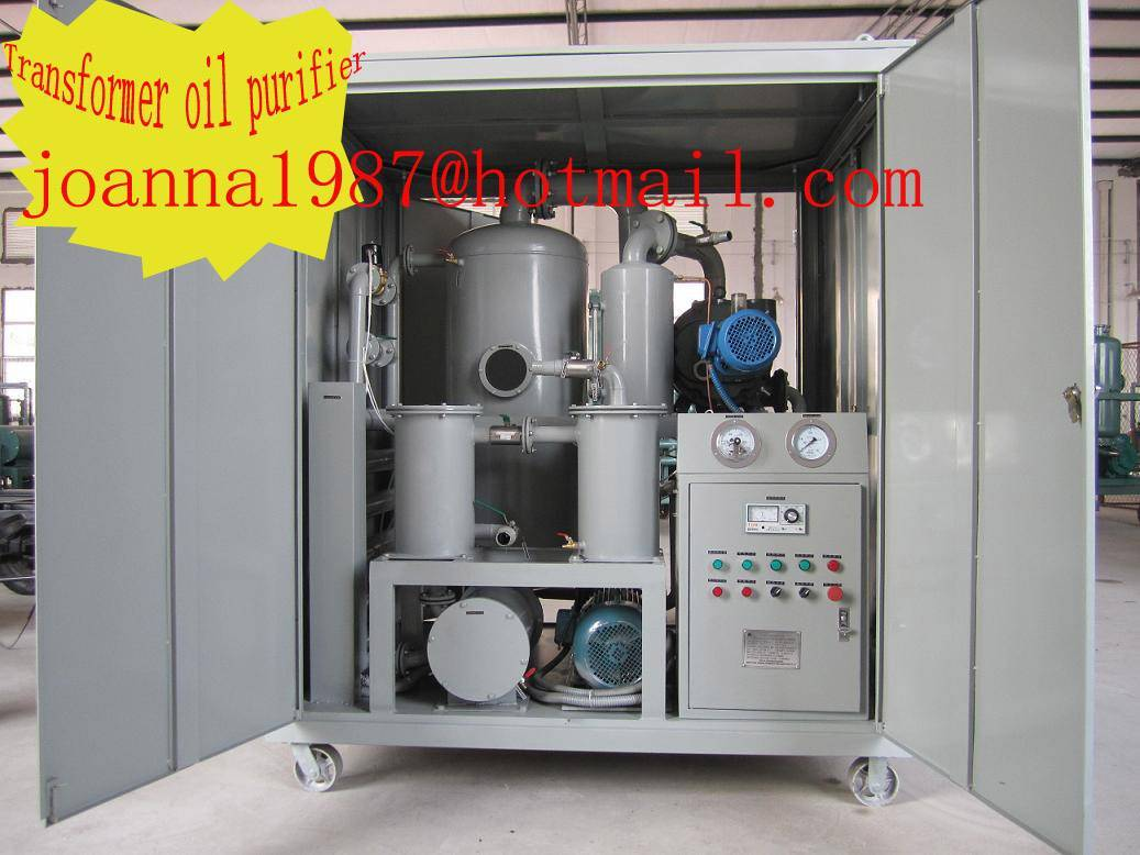 2011 insulating oil reclamation/used transformer oil purification