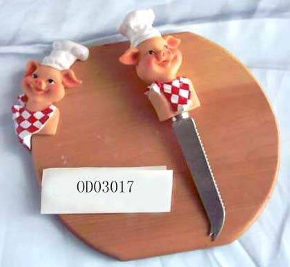 sell chopping block with knife