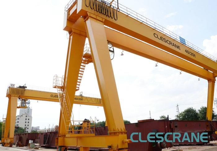 CHG Series double-girder gantry crane with hook
