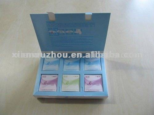 Antibacterial activity /Beauty life herbal tampon/vaginal tighten products/ preventing vaginal dryne