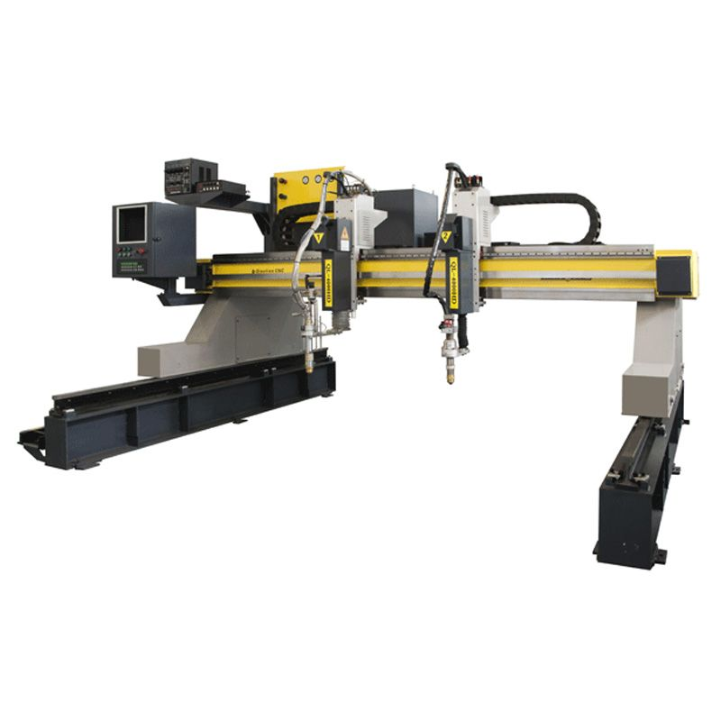 High precision small portable flame plasma CNC cutting machine
