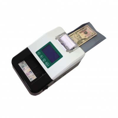 Professional currency detector with a printer/counterfeit bill detector