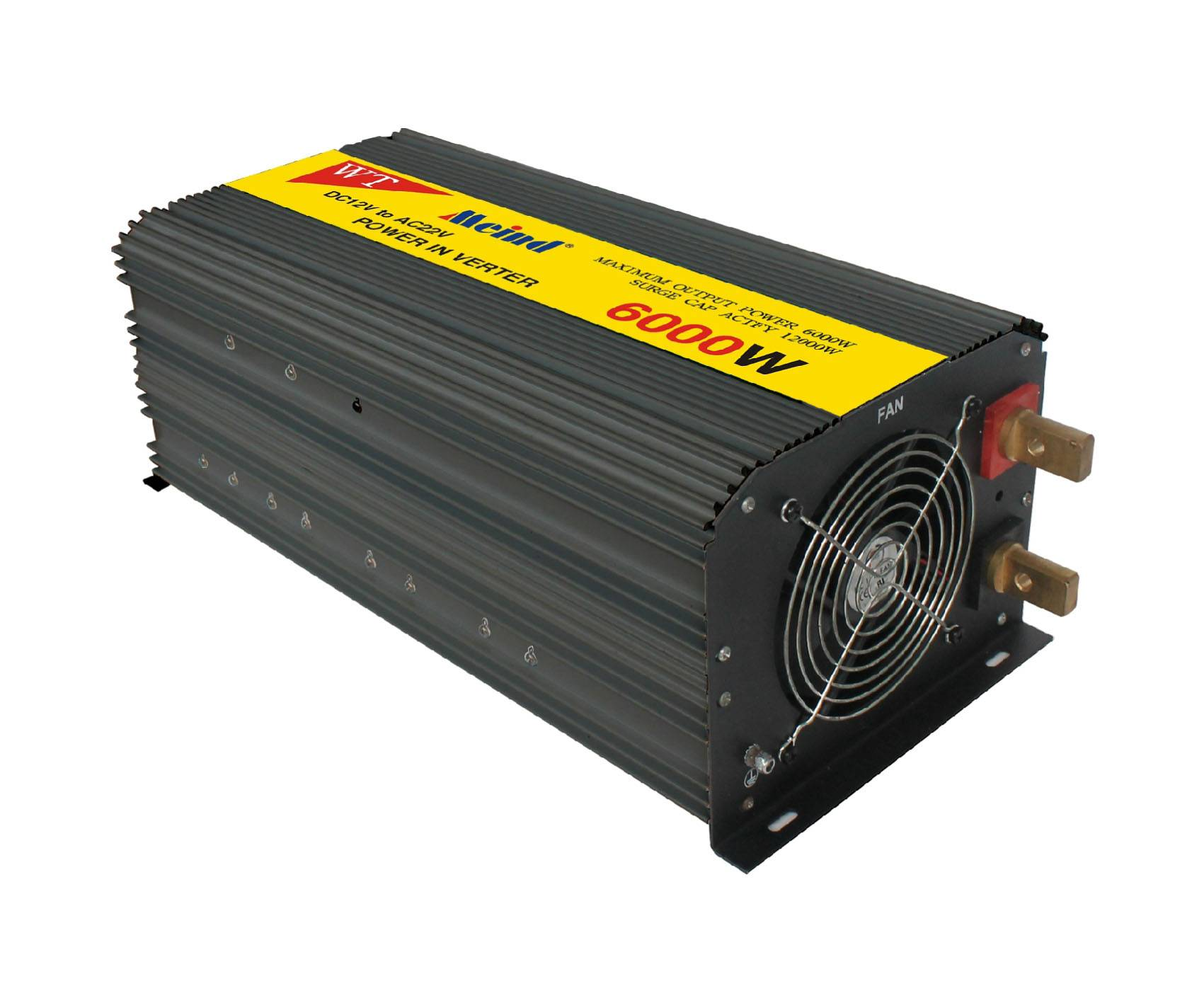 Meind Factory sell DC12V/24V/36V/48V/60V to AC100V-240V 300W-6000W all countries outlet inverter