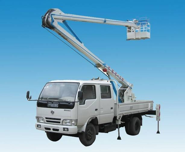 dongfeng 4X2 high altitude operational truck