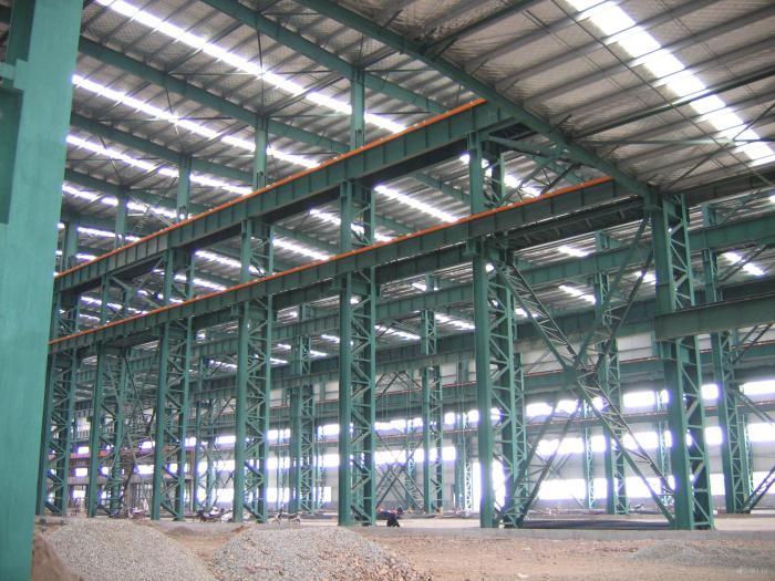 prefab metal frame warehouse workshop design peb steel structure-nanyang xinxing steel structure