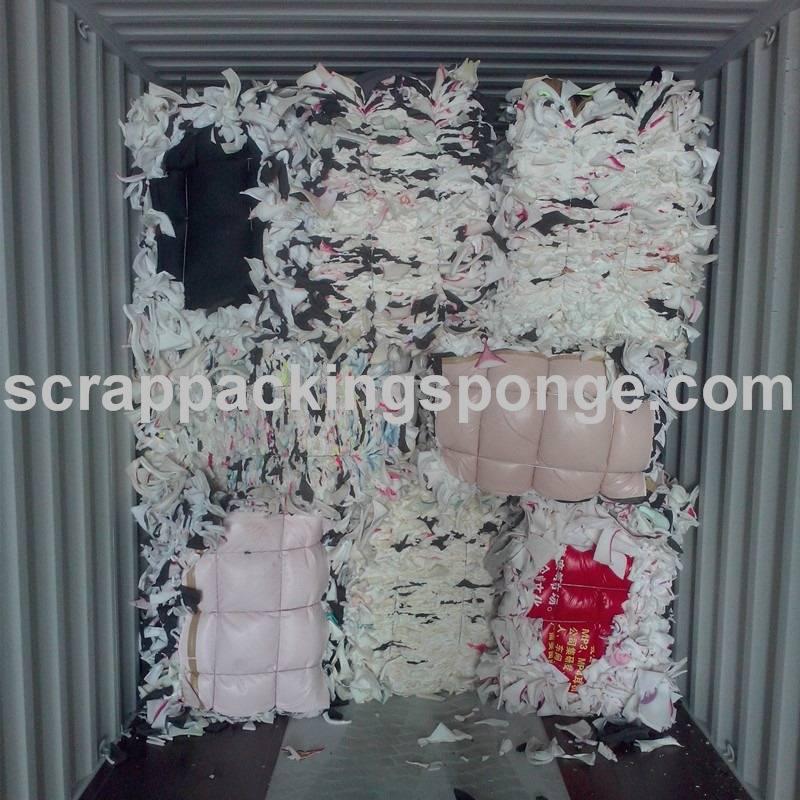 Guangdong Grade AAA/AA/B/C Polyurethane Foam Sponge Scraps