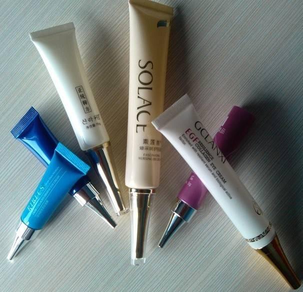 15ml eye cream cosmetic packaging tube