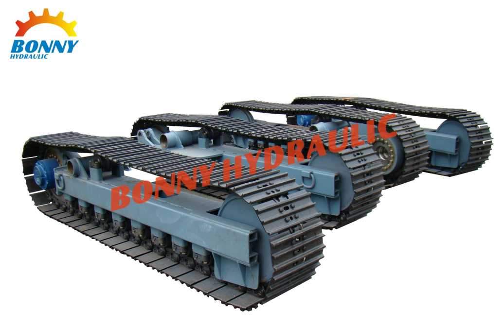 High Quality Steel Crawler Track Undercarriage