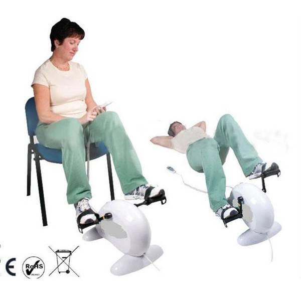 Mini Electric Exercise Pedal Bike/Portable Recovery Training Bike with CE/RoHS/GS