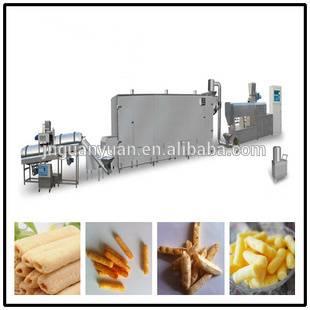 corn puffed snack food making machine