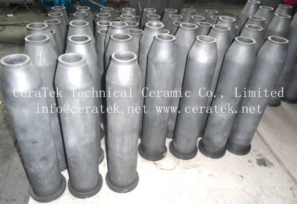 silicon carbide ceramic burner nozzle