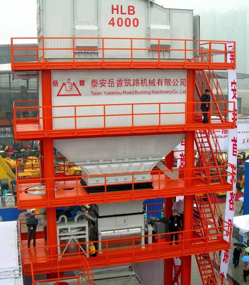 Asphalt Mixing Plant 320t/H (LBP4000)