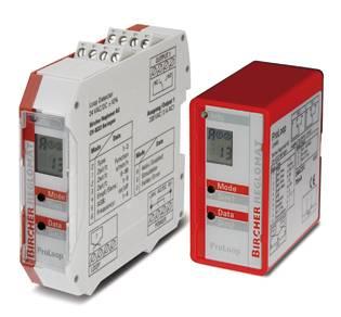 Bircher pressure sensor movable detector