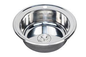 Cheap round bowl kitchen sink WY-510A