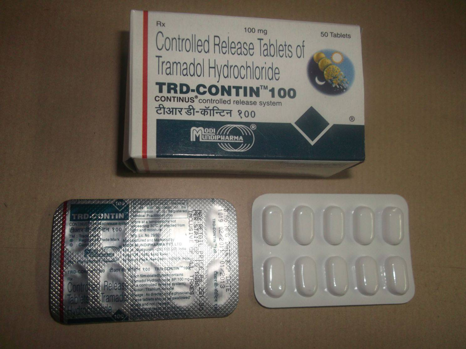 Re : Tramadol 50mg and 100mg Tablets/capsules.
