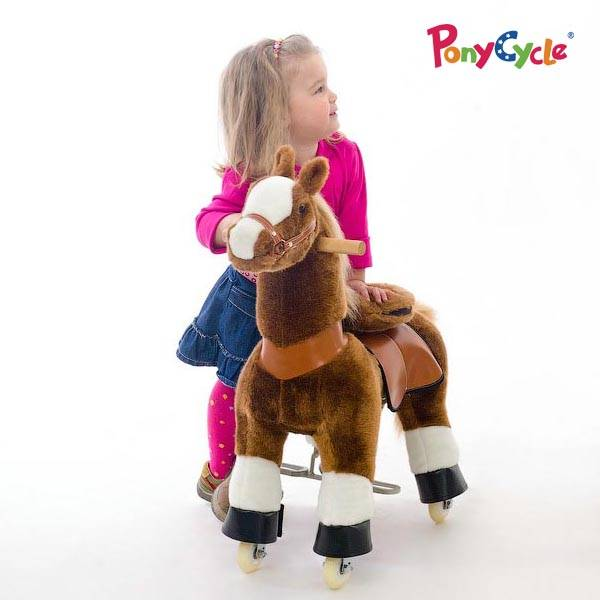plush ride on horse
