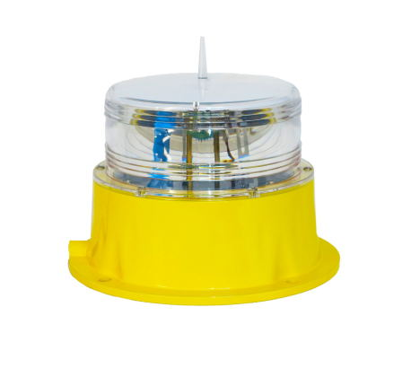 LED Solar Marine Lantern With Replaceable Lithium Iron Phosphate Battery