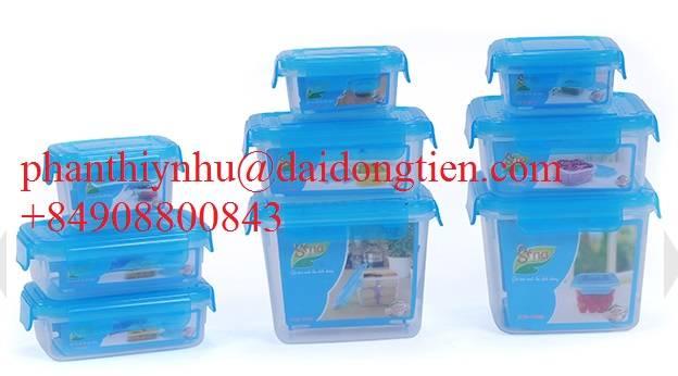 Sell plastic food storage