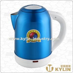 color sprayed kettle