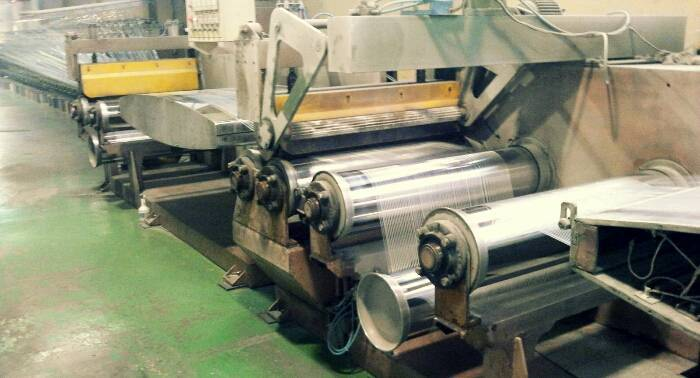 USED tarpauline coating extrusion lamianted machine