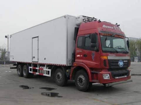 Auman 84 refrigerated truck