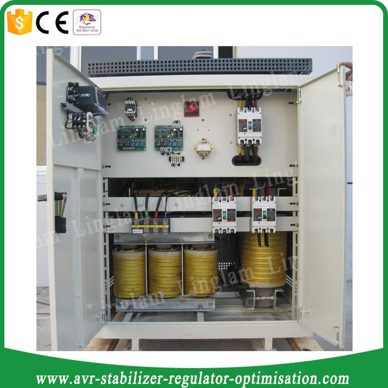 80kva three-phase big power avr stabilizer