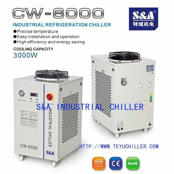 220v water chiller for 100watt Coherent laser tube