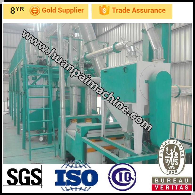 wheat flour making machinery