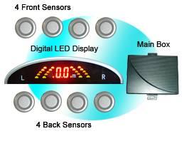 sell car DVD reversing parking sensor