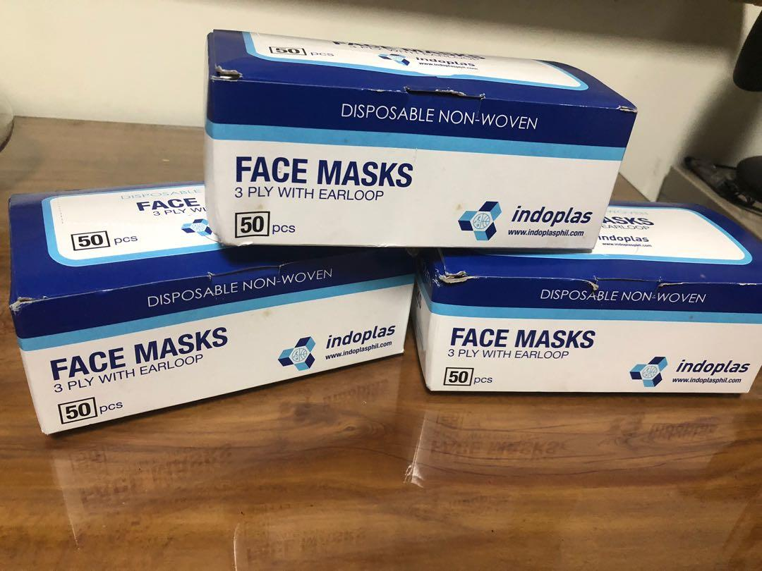 Disposable PP , 2Ply and 3Ply Surgical Medical Face Masks