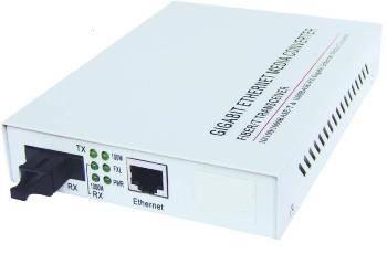 10 / 100m / 1000m Ethernet Fiber Media Converter