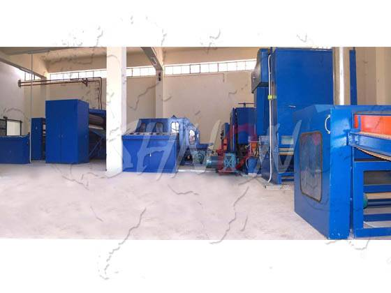 Hot Rolling Non-woven Fabric Production Line