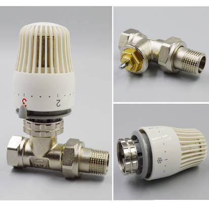 trv control head for water heating radiator