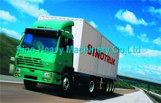 CARGO TRUCK SINOTRUK STEYR 6X4 290 hp Euro II Energy-Saving