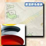 Roto gravure water based ink for diaper wetness indicator